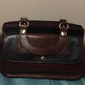 Patricia Nash Ravenna Satchel British Tan